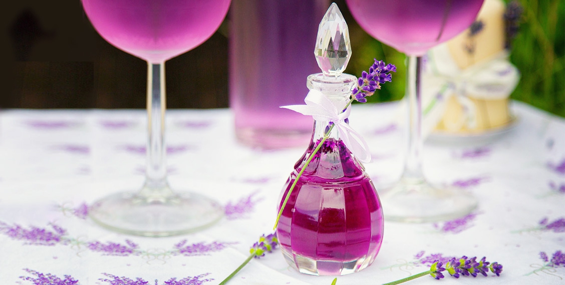 Lavendelsirup