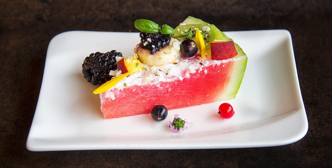 fruchtige Wassermelonen Torte
