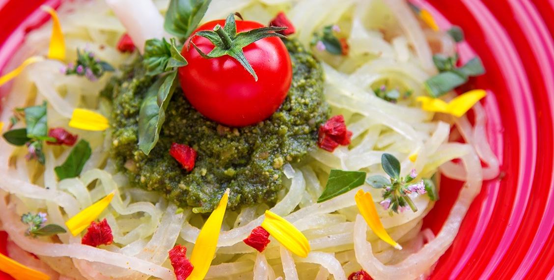 Kohlrabi Spaghetti